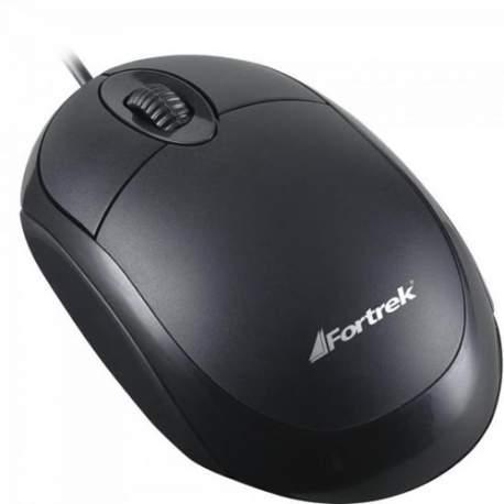 Mouse Usb Optico Preto Fortrek 62845