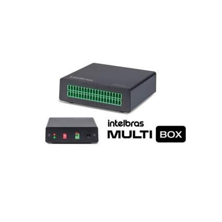 Modulo Expansor de Entradas e Saidas de Alarme Intelbras-gi 4580317 Multi-box