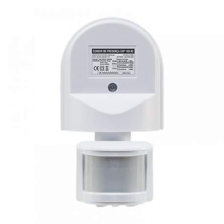 Sensor de Presença de Parede Esp 180 Ae Intelbras-sensores 4823006