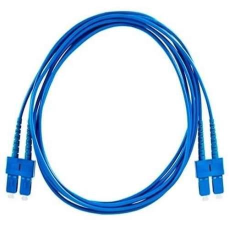 Cordão Optico Duplex Sc/sc Sm (monomodo) 2,5m Apc Adconnect /fibra