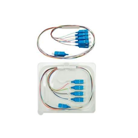 Splitter 1x8 Sc Upc Balanceado Plc Intelbras Xfs 181 4830042 /fibra