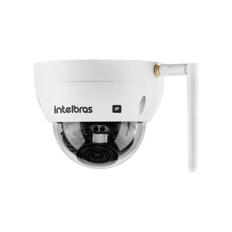 Camera Dome Ip Wifi Vip 3430 D W 4mp 2.8mm Ir 30m Ip67 Ik10 Entr.sd 4564193 Intelbras