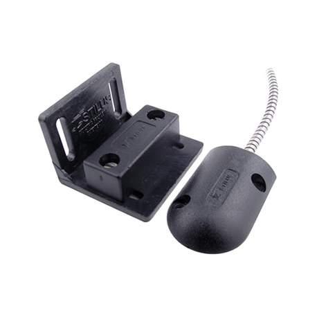 Mini Sensor Magnetico C/fio Porta de Aço Preto Stilus Msp