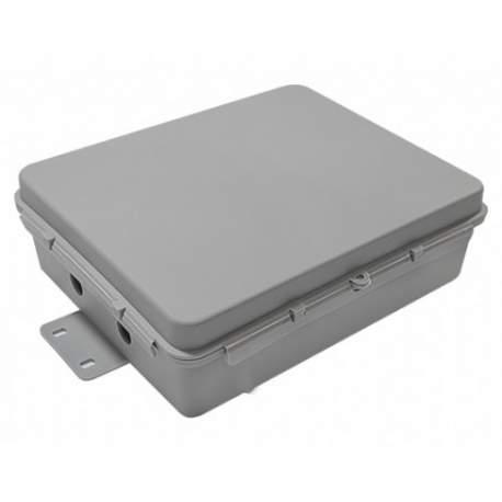 Mini Caixa Hermetica Cinza Vedada Completa Multitoc Mucx0107